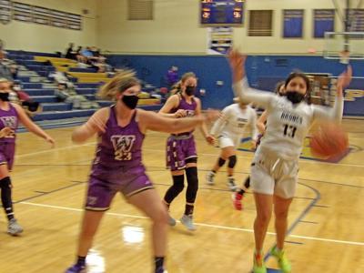 PHS girls basketball
