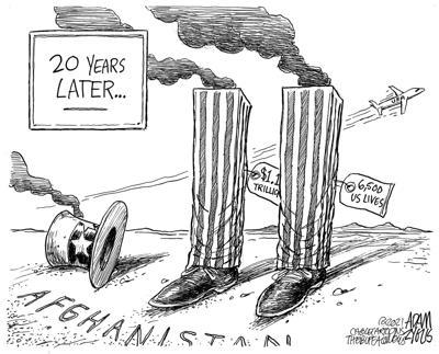 Afghanistan cartoon