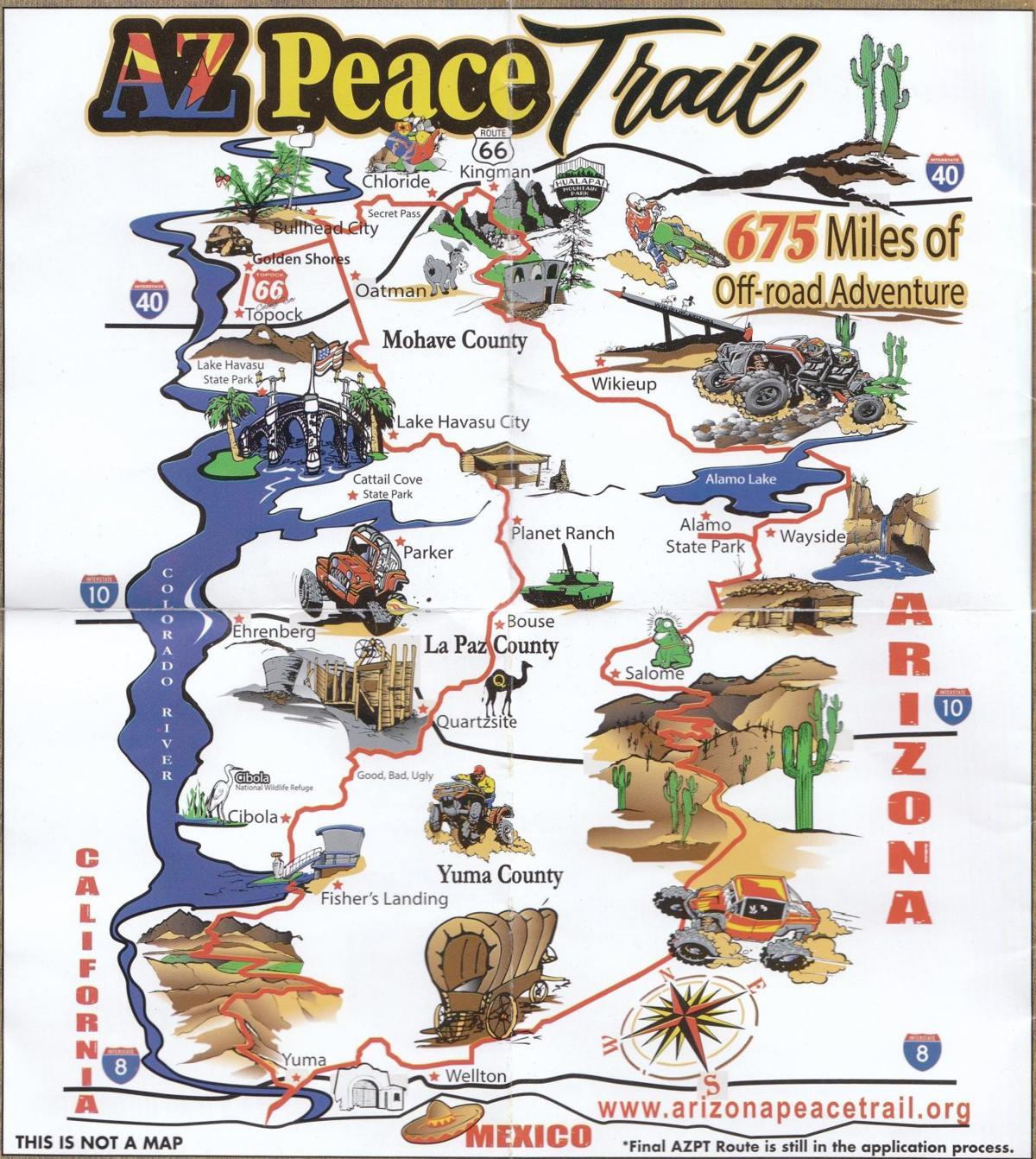 Presentation describes riding the Arizona Peace Trail | News ...