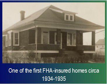 FHA insured home