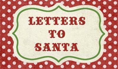 Some Santa letters have real spirit