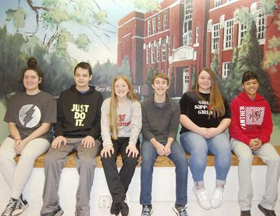 JH names students for January