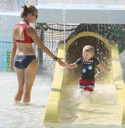 Indoor splash makes PV return