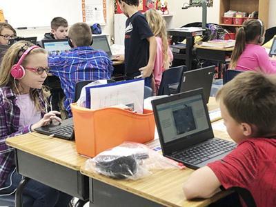 ECP school gets some 'big' help