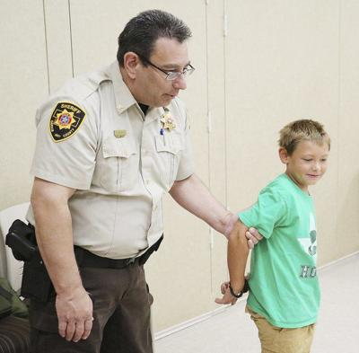 New sheriff gets warm welcome