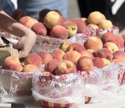 Peach time here again in Stratford