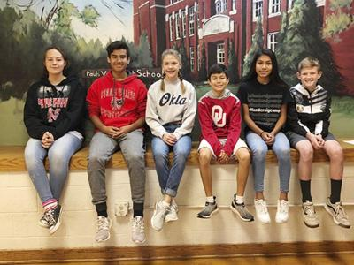 JH students get monthly honor