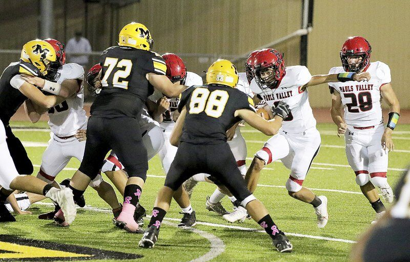 Panther offense explodes for 546 yards in 35-13 win over Madill