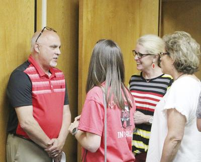 Former students recruit new principal