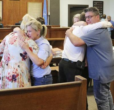 Family chooses to forgive, not punish