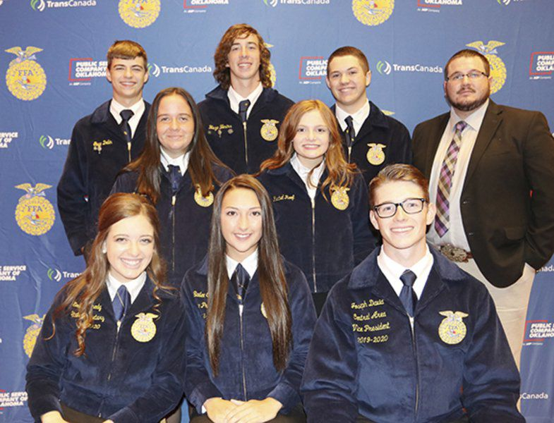 FFA officers step up for event