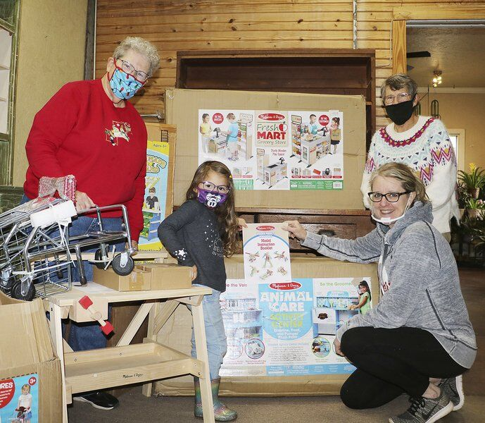Sisters put the learning in donation