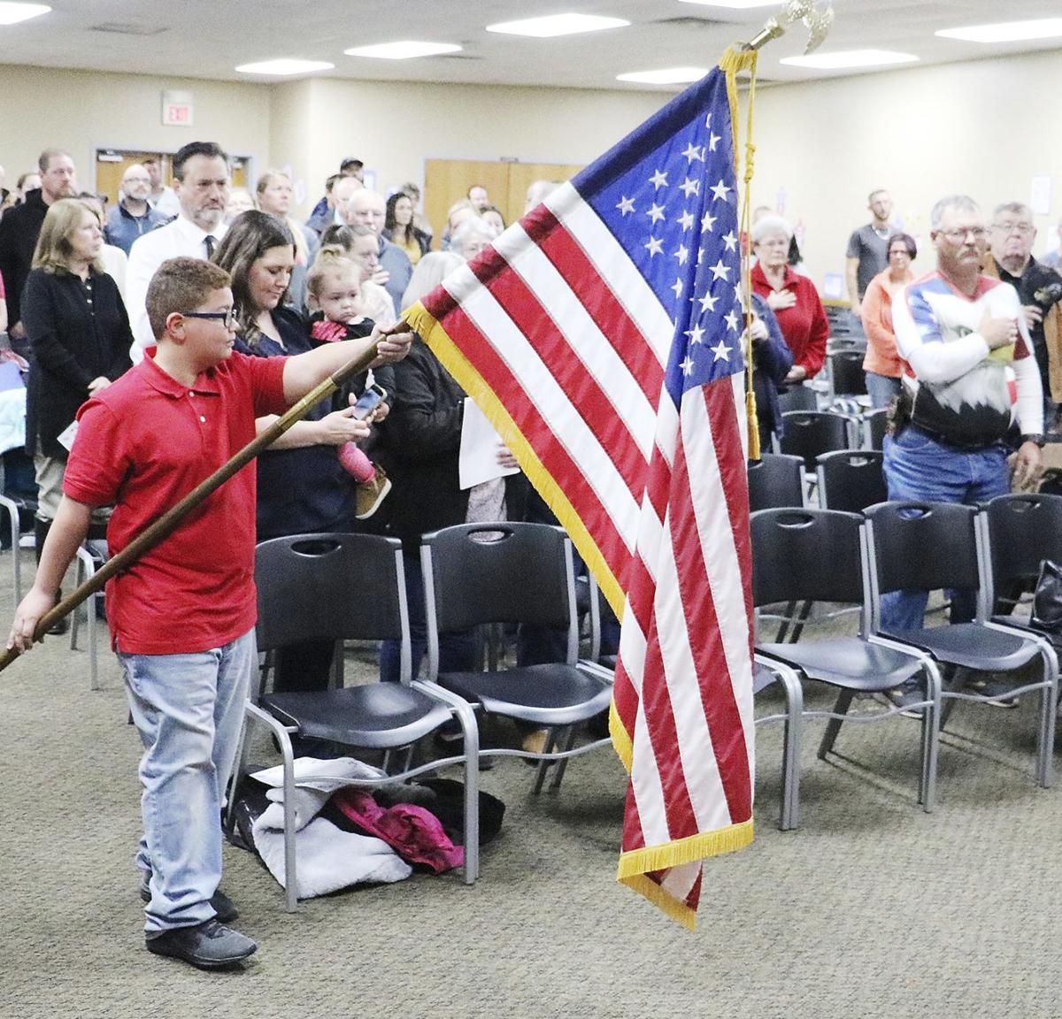 Veterans' salute