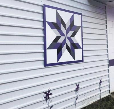 Stage set for barn quilt trail