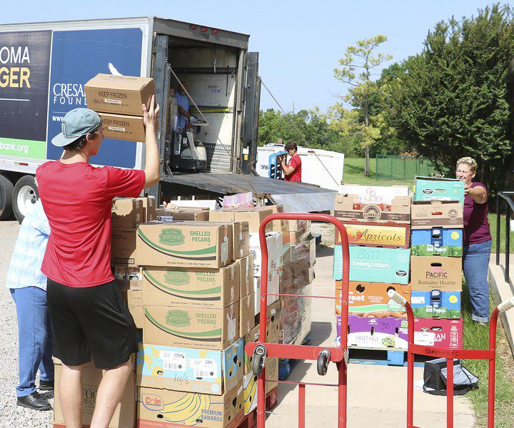 Food pantry gets special delivery