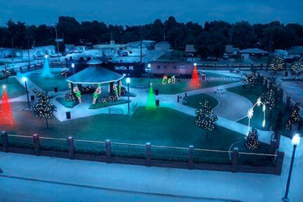 A real festive feel with depot plan