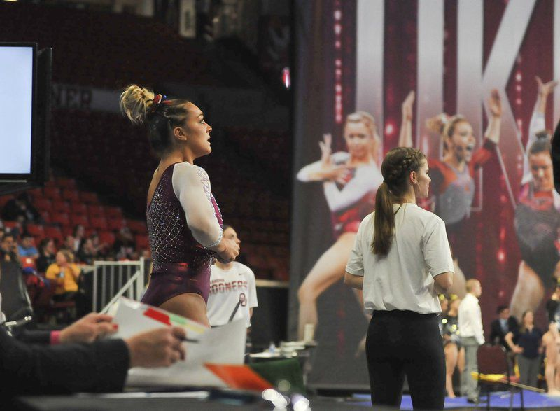 OU women's gymnastics:Oklahoma celebrates Maggie Nichols the gymnast, the person