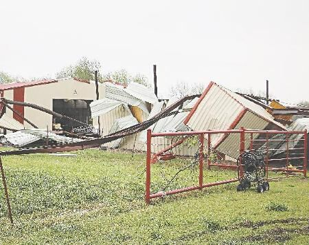 Overnight tornado comes out of nowhere