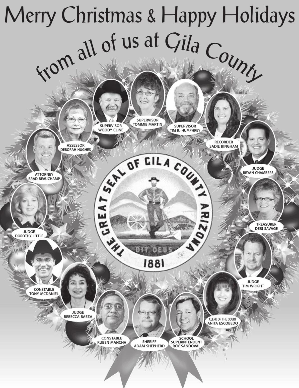 Merry Christmas from Gila County