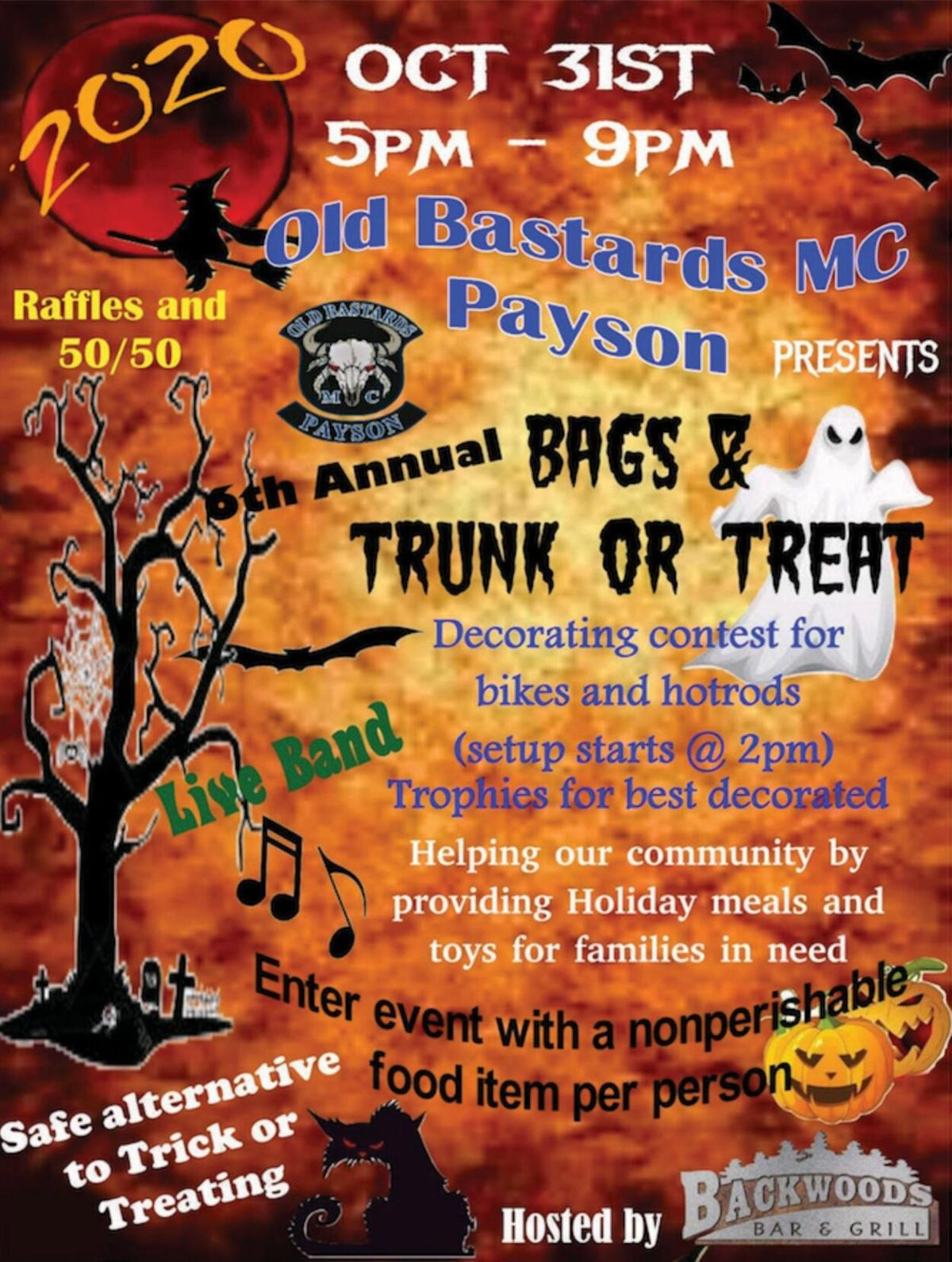 OBMC Bags & Trunk or Treat