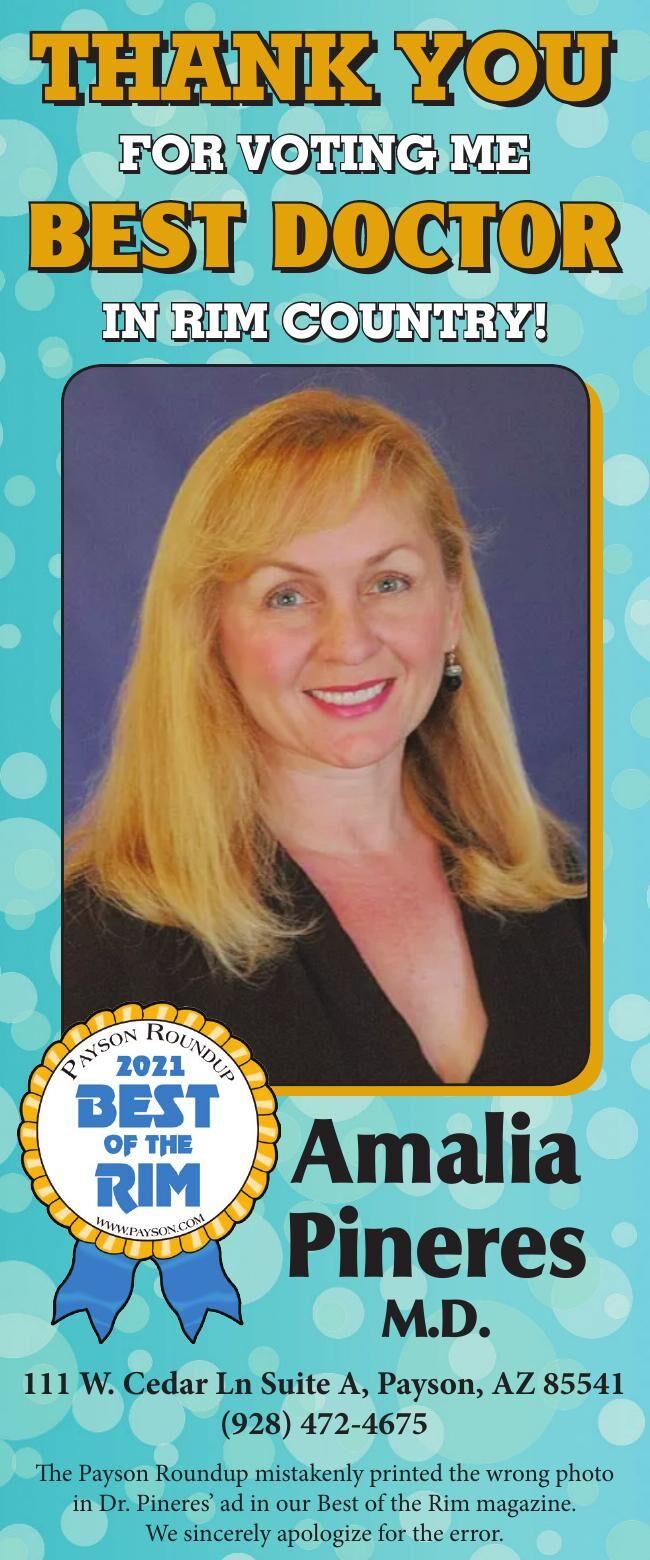 Dr. Amalia Pineres - Best Doctor