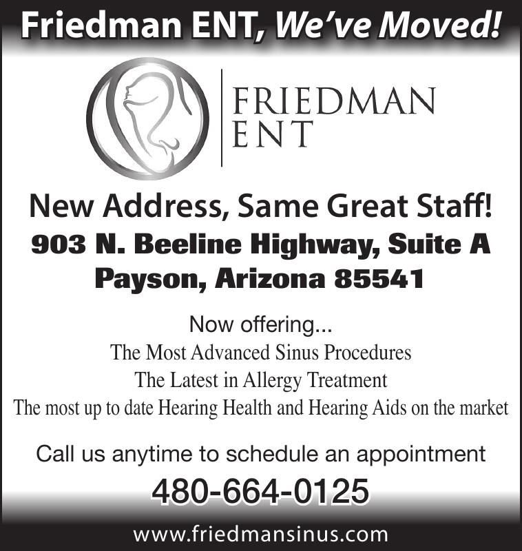 Friedman ENT, We've Moved!