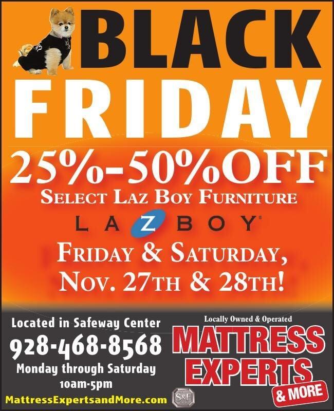 Mattress Experts & More Black Friday Sale