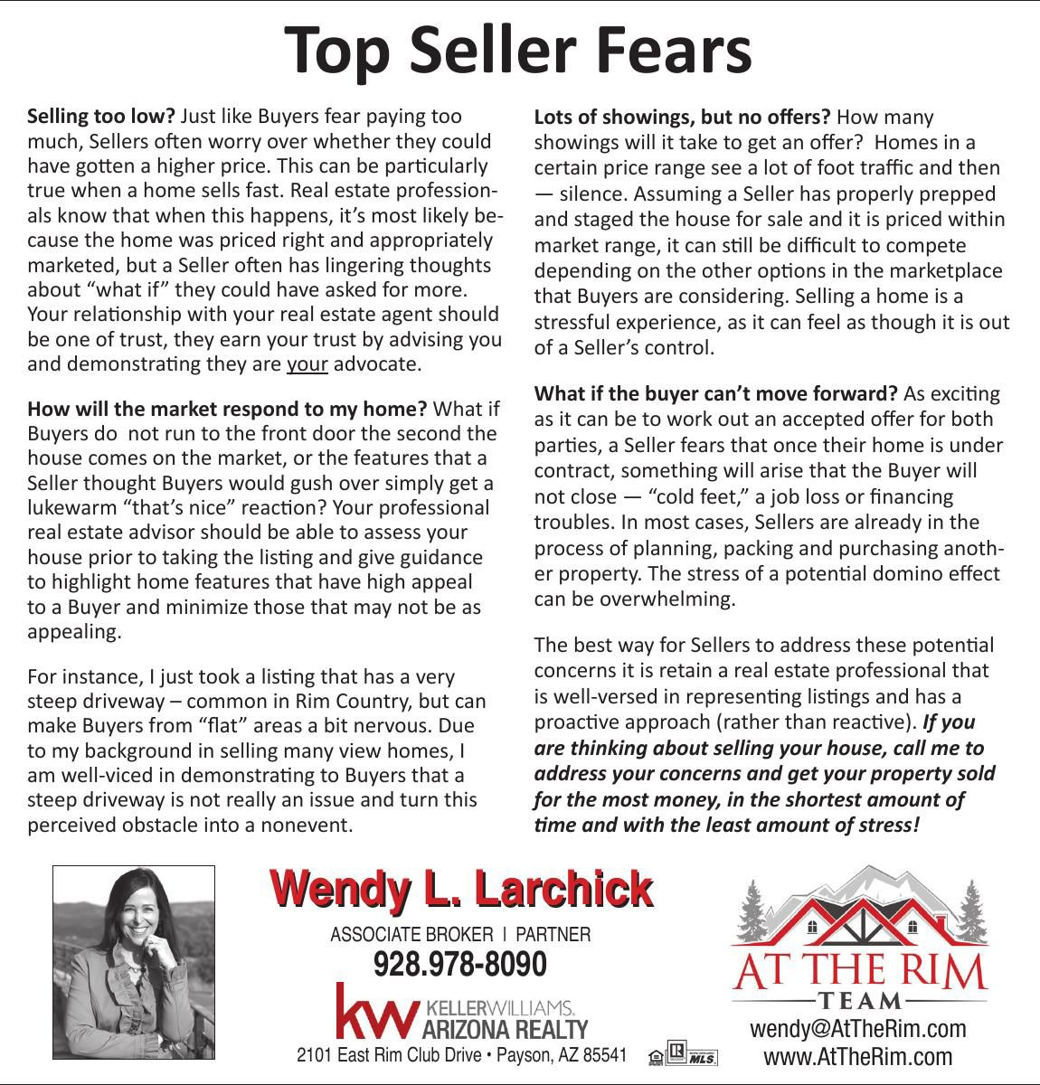 Wendy L. Larchick - Keller Williams Arizona Reality