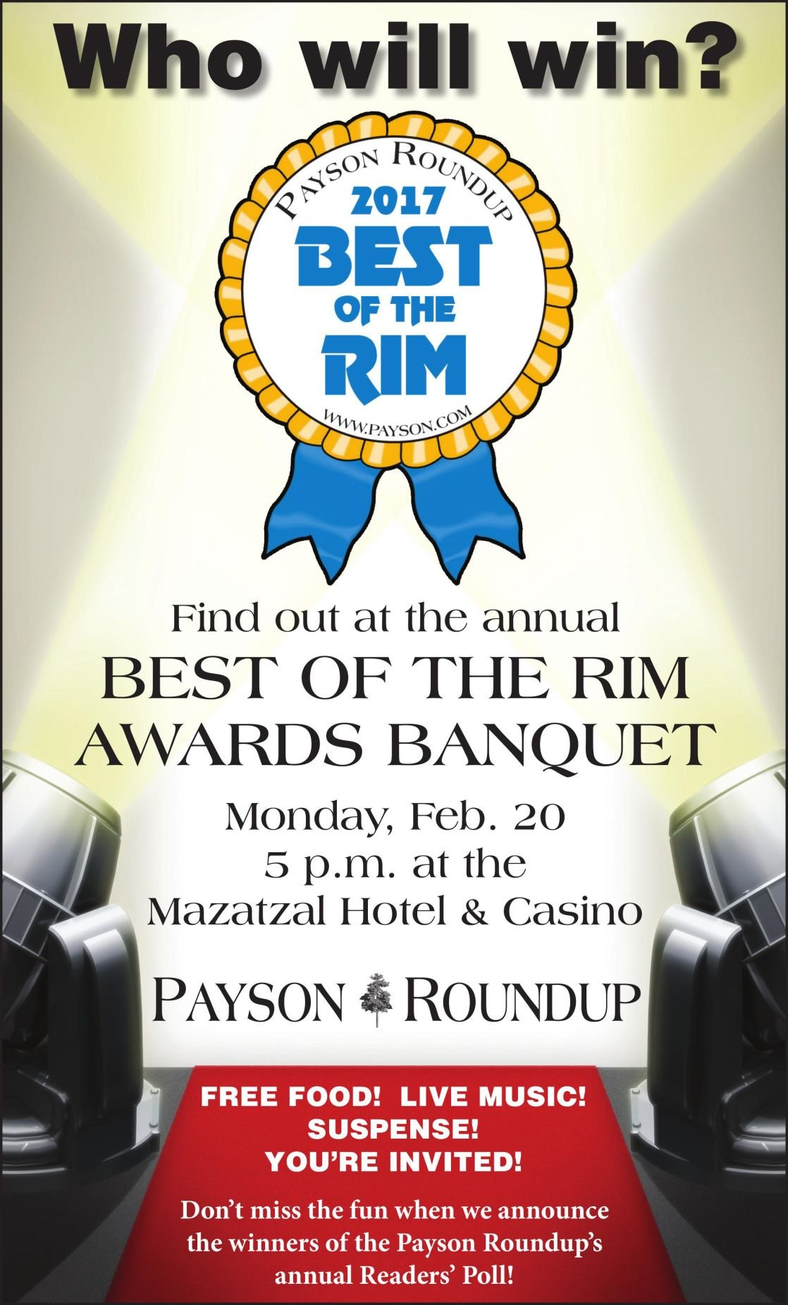 Best of the Rim 2017 - Who will win?