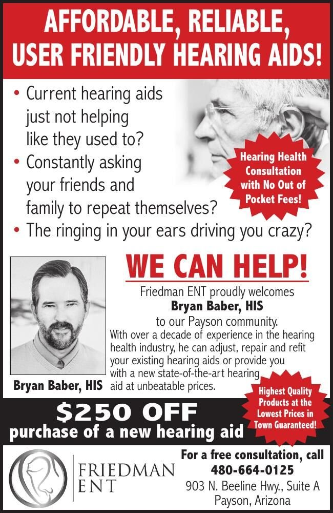 Affordable Hearing Aids - Friedman ENT