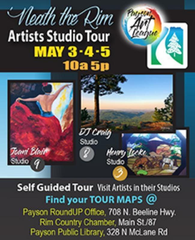 Payson Art League Studio Tour