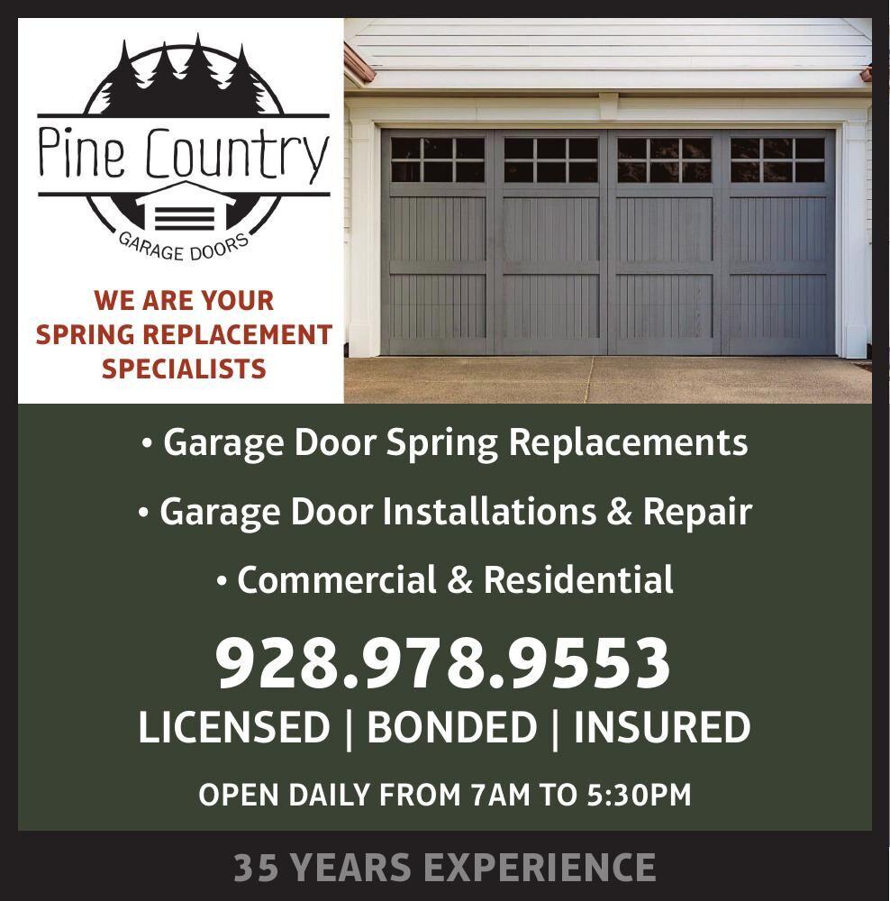 Pine Country Garage Doors