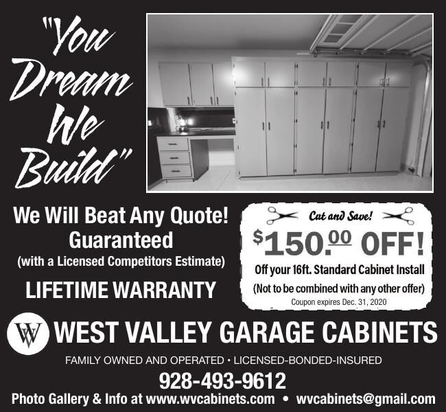 West Valley Garage Cabinets