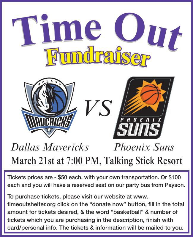 Phoenix Suns - Time Out Fundraiser