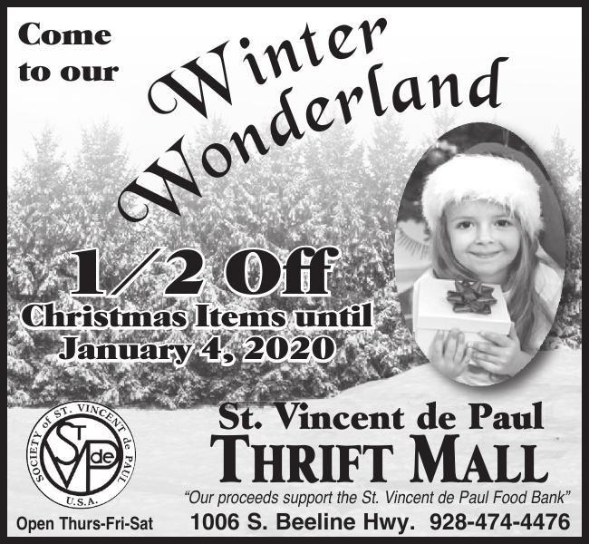 Winter Wonderland at St. Vincent de Paul Shopping Mall