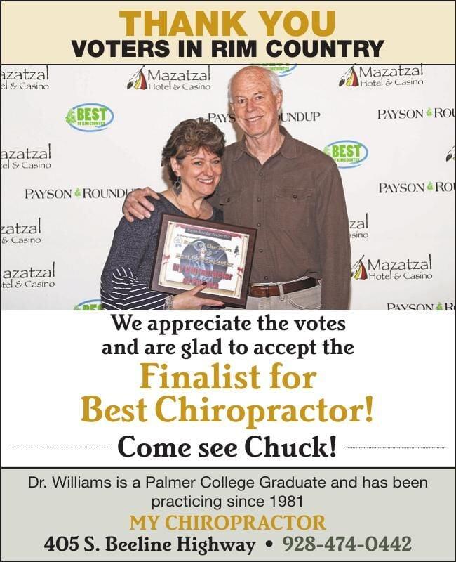 My Chiropractor Wins Best of the Rim