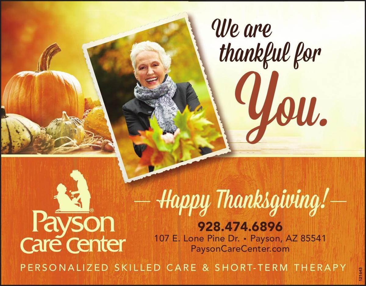 Payson Care Center Thanksgiving