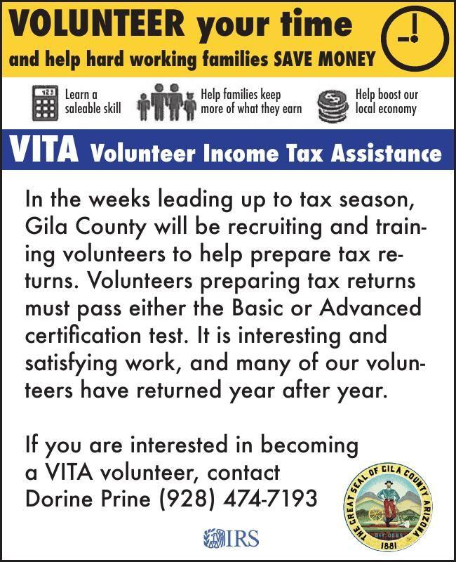 Volunteer Your Time Doing Tax Returns
