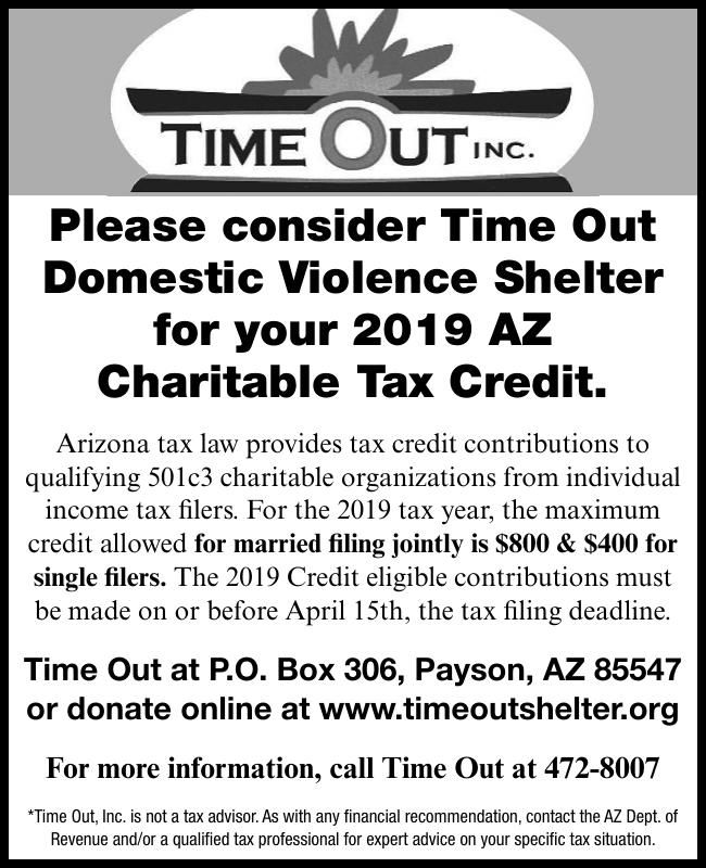Time Out Domestic Violence Shelter Donations
