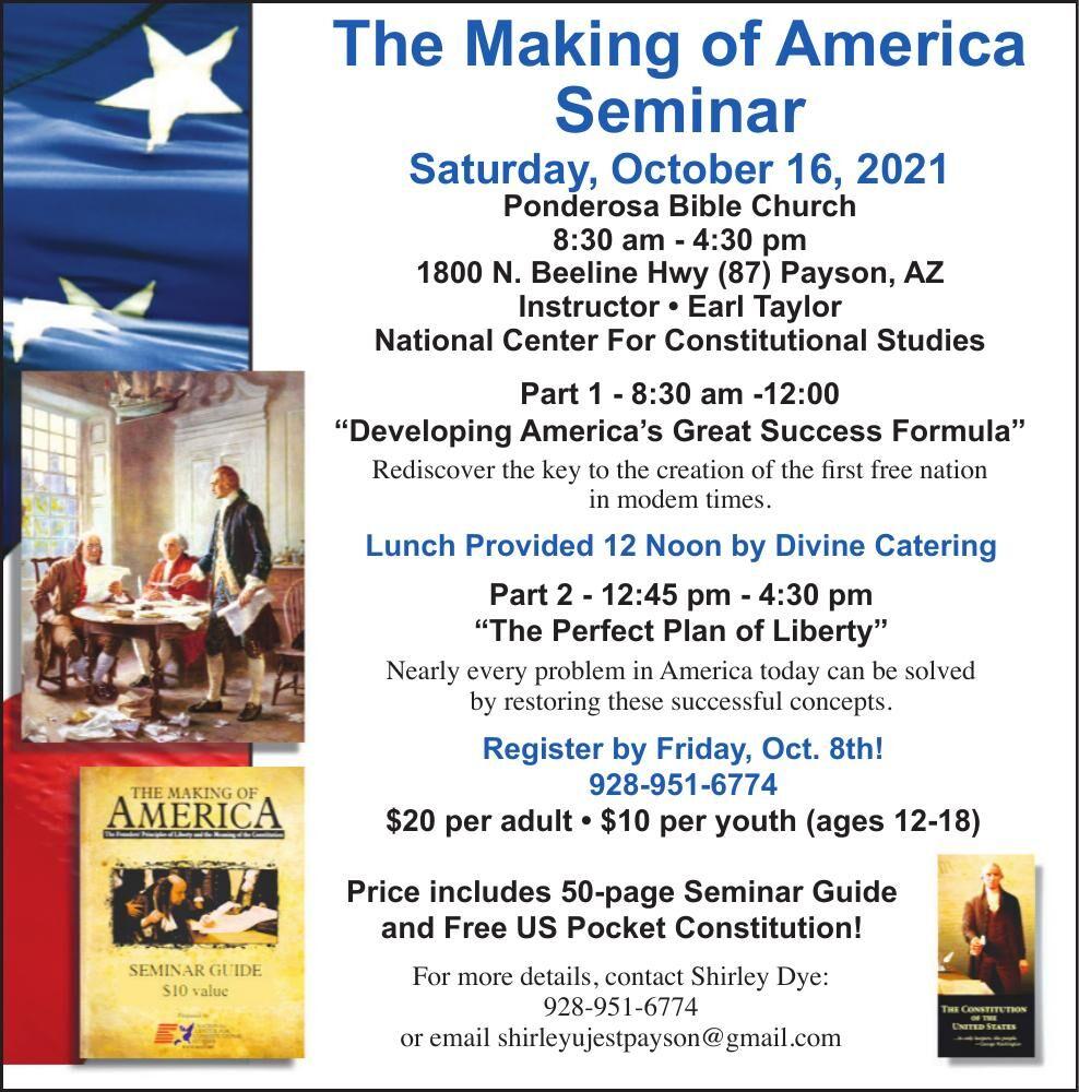 Making of America Seminar