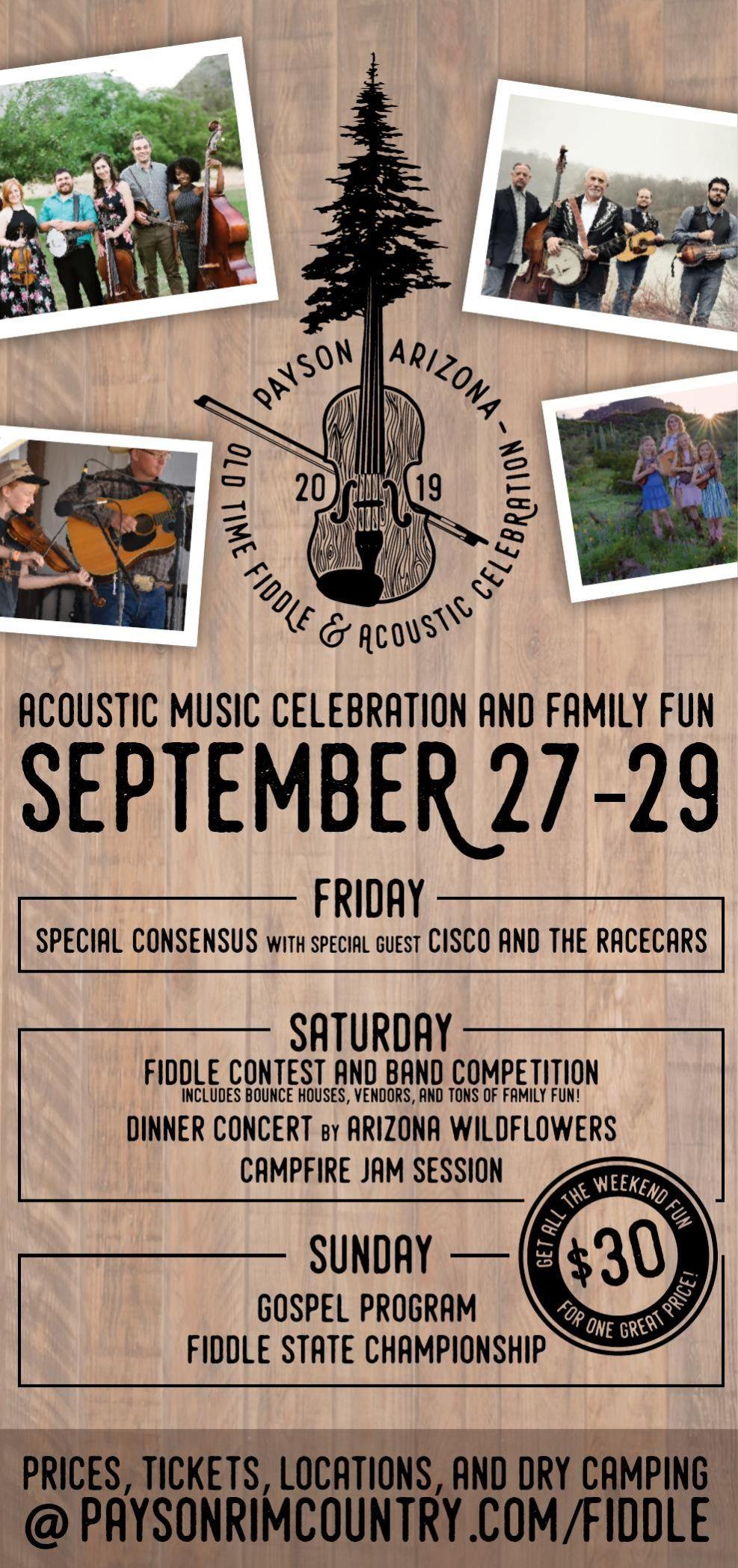 Old Time Fiddle & Acoustic Celebration