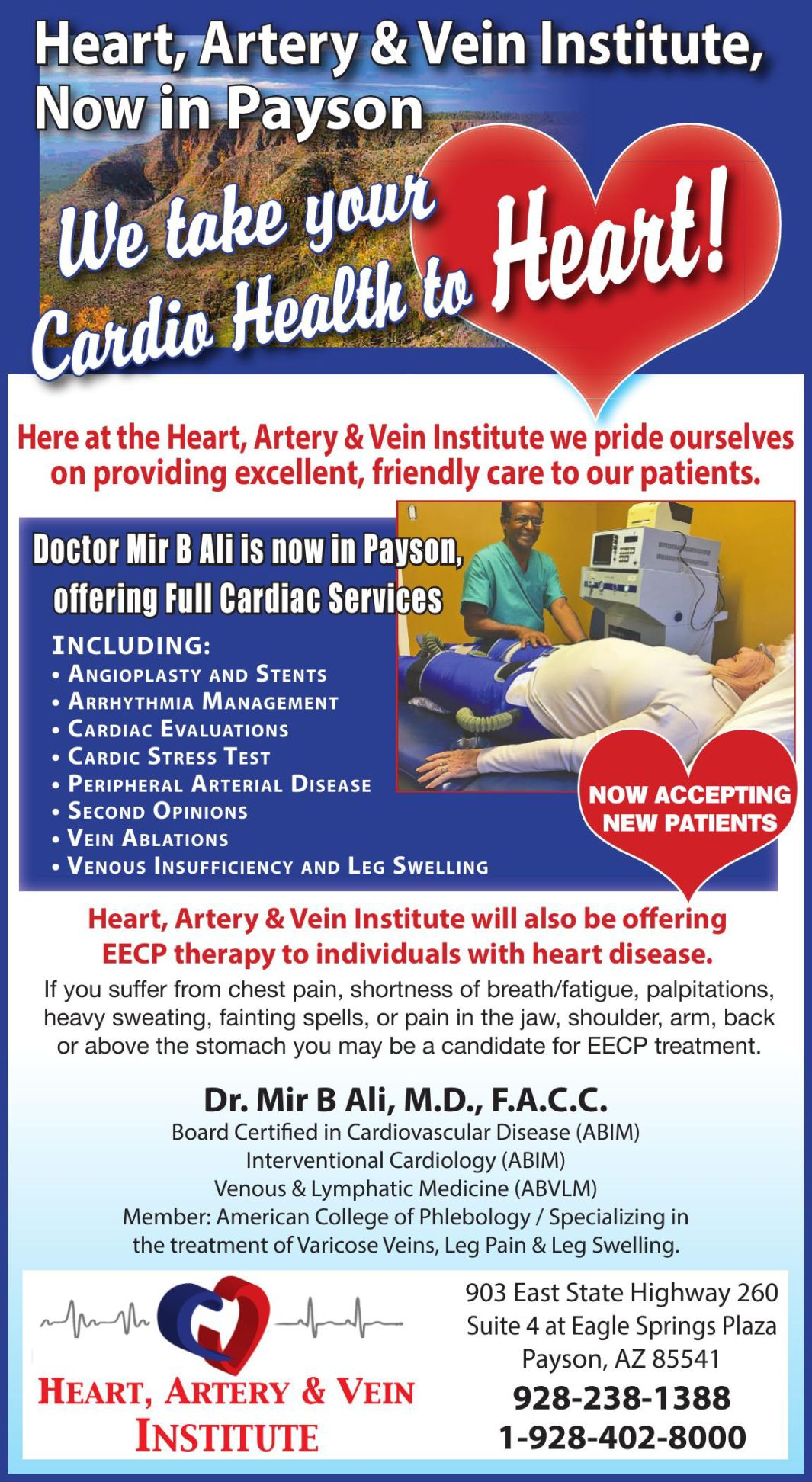 Heart, Artery & Vein Institute,