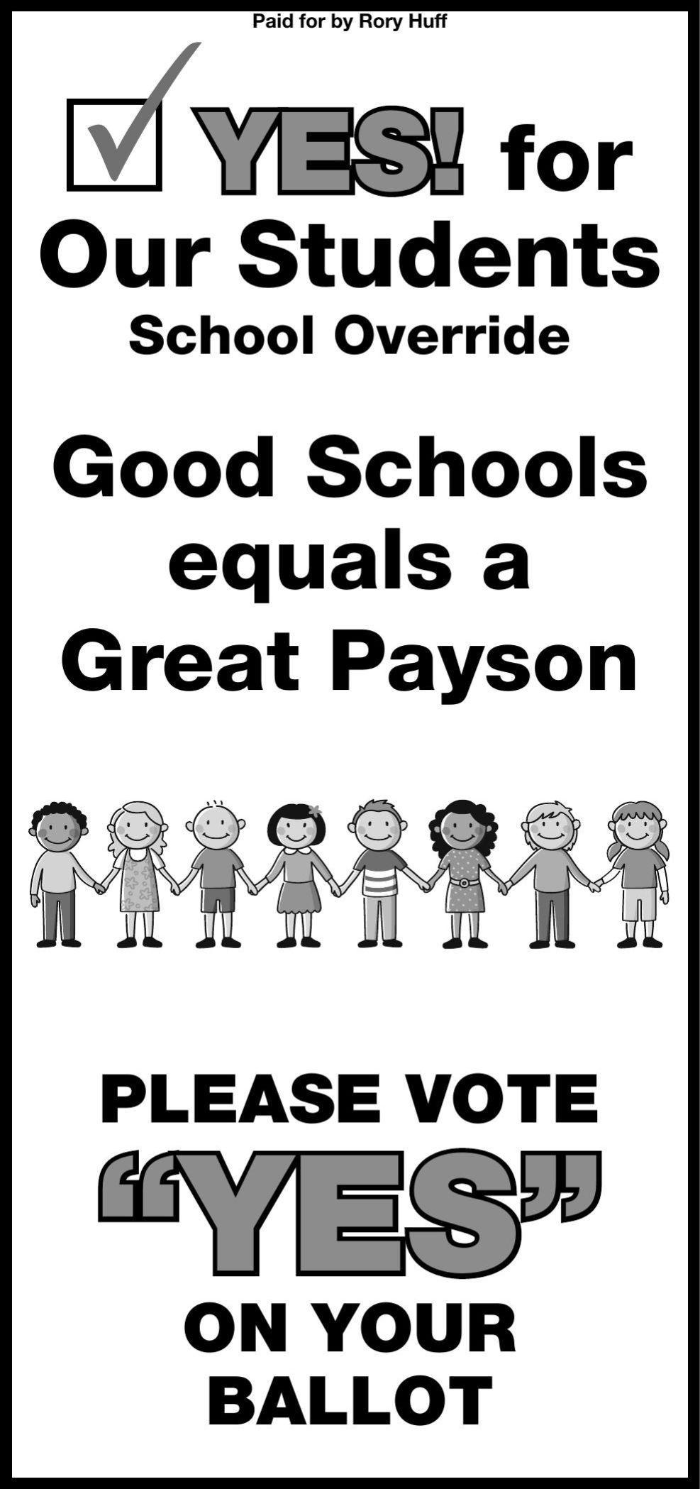 Vote YES on School Override
