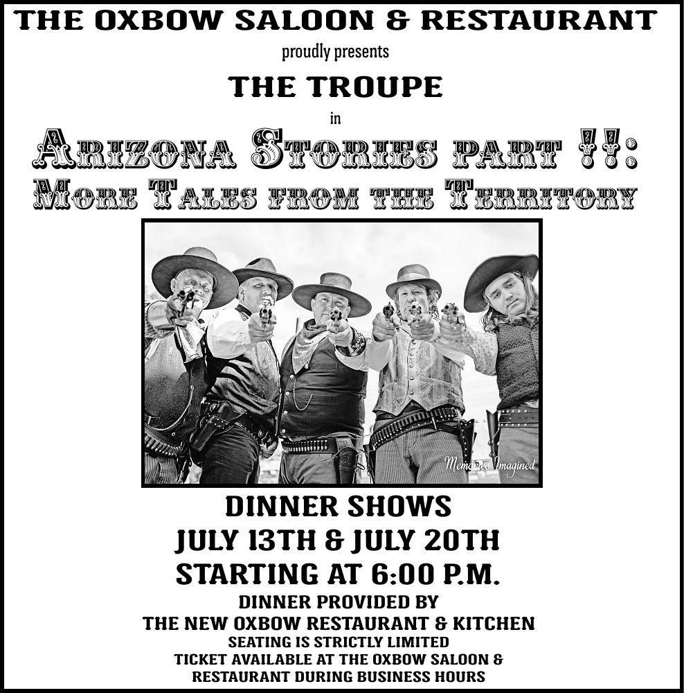 The Troupe presents Arizona Stories II