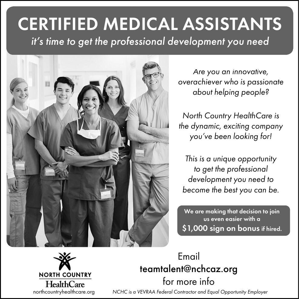 North Country Health Care - CMAs Wanted