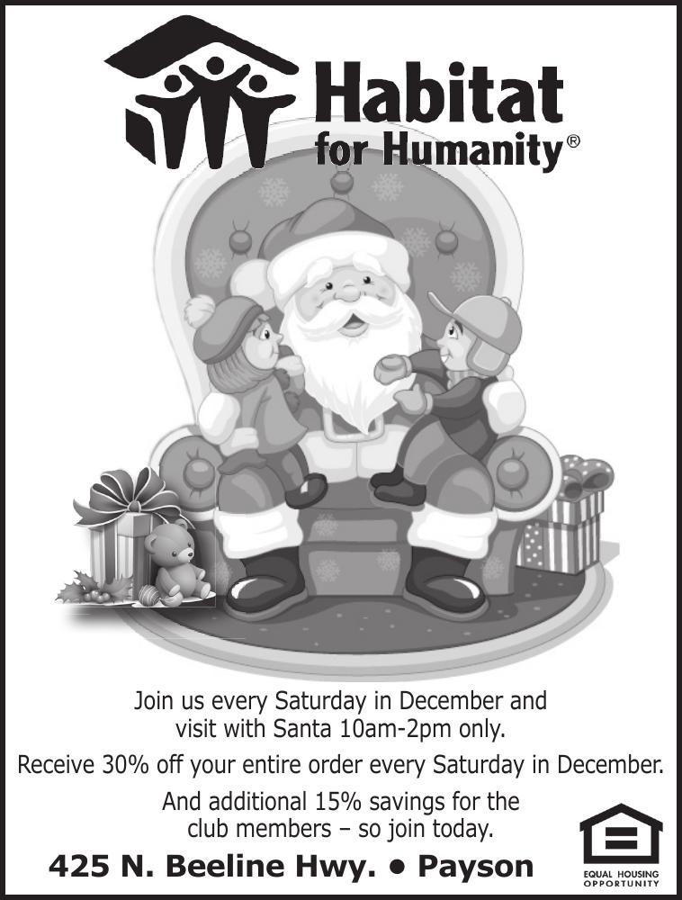 Santa at Habitat for Humanity ReStore