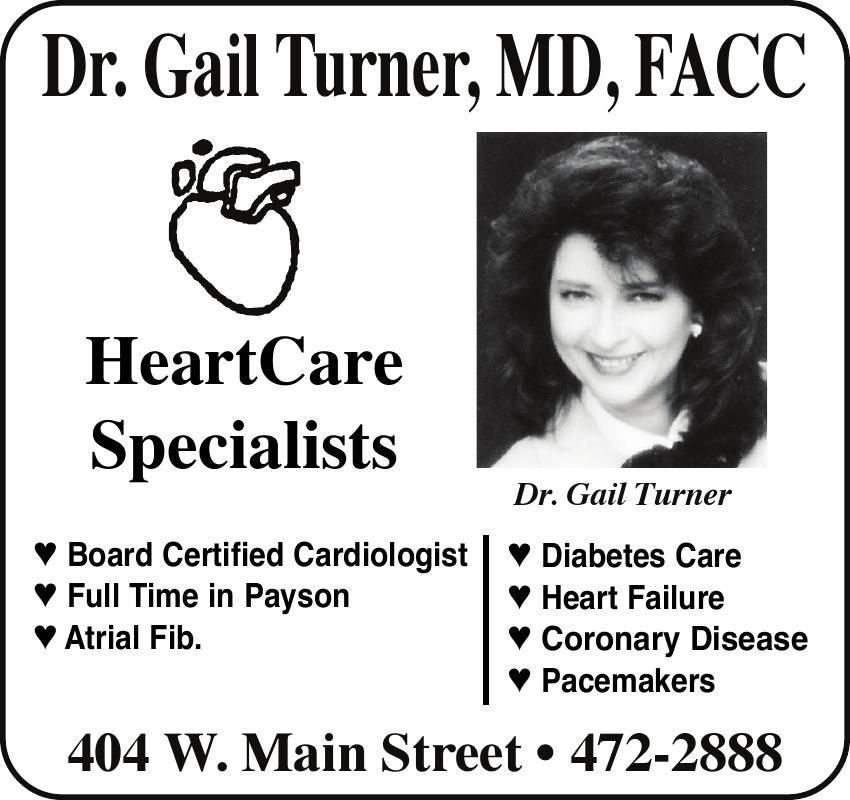 Dr. Gail Turner, MD, FACC