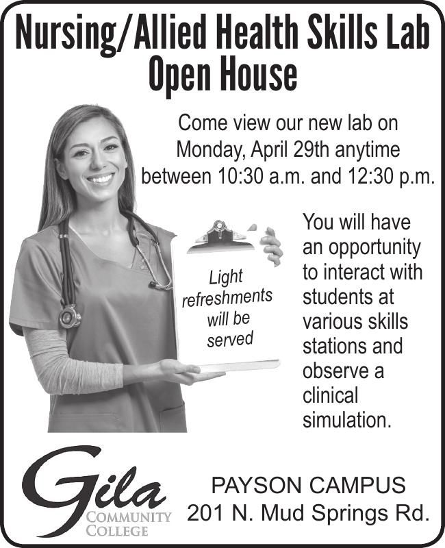 Gila Community College Nursing/Health Open House
