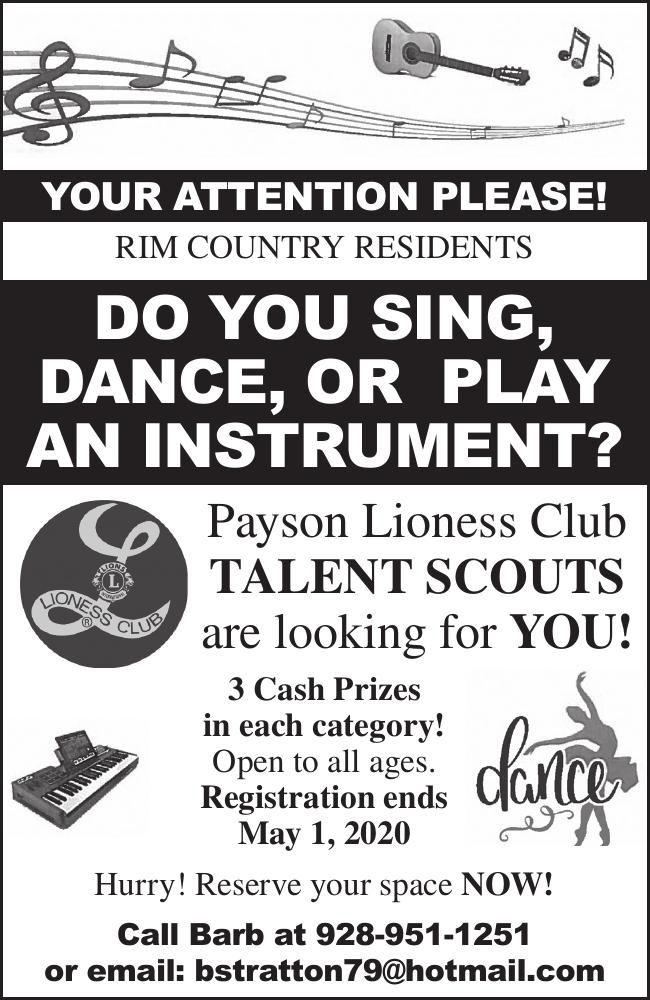 Talent Scouts Are Looking For You
