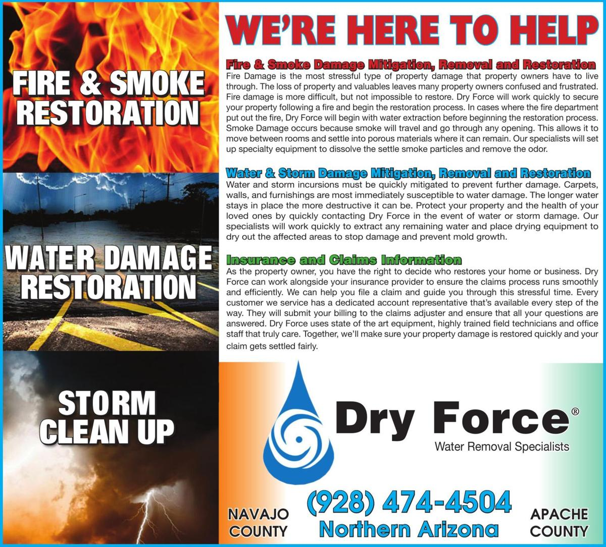 Dry Force - WE'RE HERE TO HELP